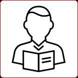 Ikona książka i osoba